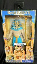"Iron Maiden Pharaoh Eddie 8"" clothed action figure Powerslave Eddie Neca - New"