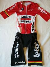 Original Vermarc Lotto Soudal Joker bicycle jumpsuit.Made in Italy.Size S-2-46.