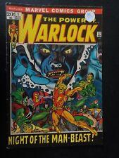 (2) Warlock #1 (Aug 1972, Marvel) Night of the Man-beast & #2 Rhodan and Hounds