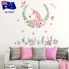 Unicorn Nursery Wall Decal Sticker Art Removable Vinyl Home Decor Stickers ON