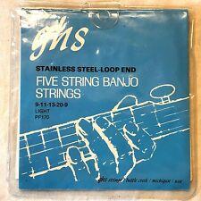 GHS PF170  Regular Light Banjo String set, Incomplete: LW20, L13, L11 & L09