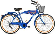 7-Speed Men Bicycle Beach Cruiser - Margaritaville 26