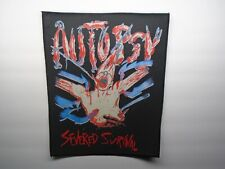 AUTOPSY SEVERED SURVIVAL SUBLIMATED BACK PATCH