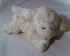 "Baby Gund Sheep Lamb Winky 58133 Plush Lovey Rattle Toy Stuffed Animal 9"""