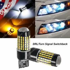 Bright Switchback LED Front Turn Signal Light Bulbs for Honda Accord Civic 16-17