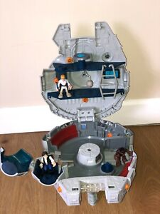 Playskool heroes - Millennium Falcon, Luke Skywalker, Hans Solo and Chewbacca