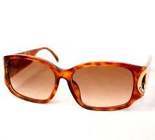 Christian Dior sunglasses 2660 vintage brown gold rectangle women frames