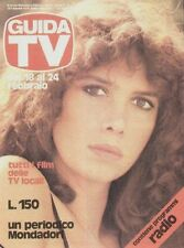 TV Guide 1979 n.7 Laura Belli Fear The World TV private show radio