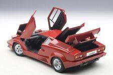 Autoart Lamborghini Countach 25th Anniversary Edition Red in 1/18 Scale