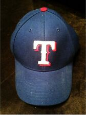 Texas Rangers Blue Adjustable Baseball Cap with Raise Embroidered Front Logo