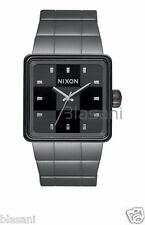 Nixon Original Quatro A013-131 Gunmetal 36mm Watch
