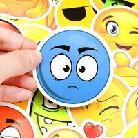 50 Emoji Smartphone Phone Stickerbomb Aufkleber Sticker Mix Decals wqw