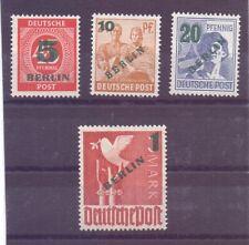 Berlin 1949 - Grün-Aufdruck - MiNr. 64/67 postfr.** gepr.- Michel 250,00 € (441)