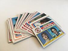 Topps Baseball 1982 Texas Rangers Complete Team Set of 27 Cards