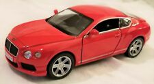 "RMZ City - 5"" Scale Model Bentley Continetal GT V8 Red (BBUF555021R)"
