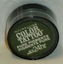 Maybelline Eye Studio Color Tatoo Pure Pigment 24hr Eye Shadow FOREST FATALE #50