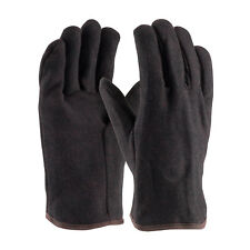New Pip 95-864 Brown Cotton/Poly Cut Red Jersey Line Heavy Weight Glove (per 12)