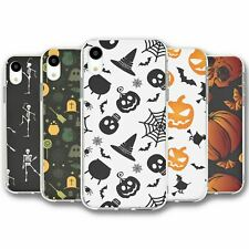 For iPhone XR Silicone Case Cover Halloween Collection 4
