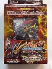 FUTURE CARD BUDDYFIGHT DEMON LORD DRAGON TEMPEST ENGLISH TRIAL DECK BRAND NEW!!