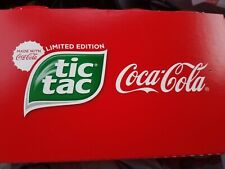 COCA COLA Limited Edition TIC TAC Jumbo 3.4oz 200ct TicTacs