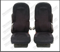 SCANIA STREAMLINE TRUCK SEAT COVERS RED/BLACK[TRUCK PARTS & ACCESSORIES]
