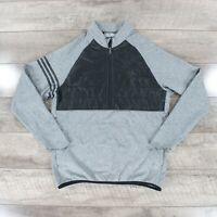 Adidas Golf Climaheat Quilted Jacket BC5320 In Grey & Black RRP £90