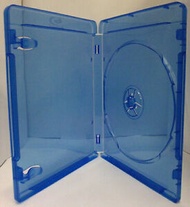 25 BLU RAY DVD SINGLE CASE WITH OUTER SLEEVE 14MM SPINE