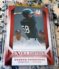 DERECK RODRIGUEZ 2013 Panini Elite Rookie Card RC San Francisco Giants $ HOT $