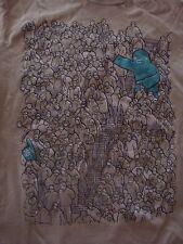 Hilarious Foam Hand Man Sports Event T-Shirt, Size Medium, Good Shape!
