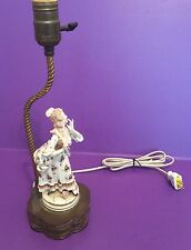 Vintage Wired Ceramic Table Lamp Wired Great!!