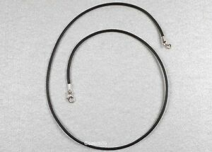 Lederkette nach MASS 2mm Lederketten Halsketten Lederband schwarz braun 40cm MS