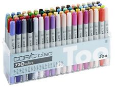 Copic Ciao - 72B Manga Marker Set TWIN TIPPED rechargeables avec COPIC divers encres