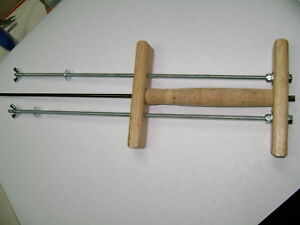 """CORK RING CLAMP ---low shipping rates, >> """" 24""""  rods available on request-read"""