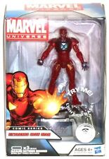 """Marvel Universe TRU Extremis Iron Man 4"""" Figure with Light Up Collector Base"""