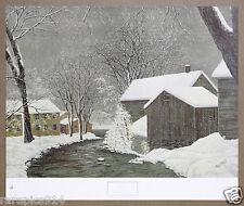 Patsy Santos Winter Stillness Vintage Collotype Print 1975