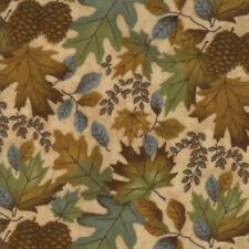 MODA Fabric ~ FALL IMPRESSIONS FLANNELS ~ by Holly Taylor (6701 11F) by 1/2 yard