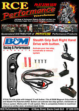 B&M SHIFTER GRIP SUIT STEALTH MAGNUM GRIP RIGHT HAND W/BUTTON - BM81078