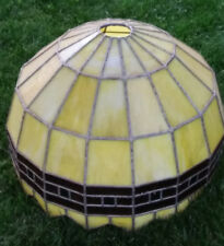 Arts and crafts style Stained Glass Hanging Shade Chandelier light lamp