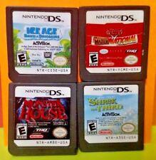 Disney Ice Age Monster House Cars Mater Shrek Third Nintendo DS Lite 2ds 3ds Lot
