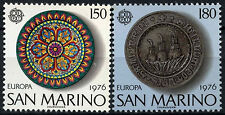 San Marino 1976 SG#1060-1 Europa neuf sans charnière Set #D55629