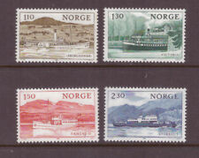 Norway MNH 1981 Motor Boats set mint stamps