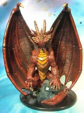 Dungeons & Dragons Miniature  Huge Red Dragon Giants of Legend !!  s112