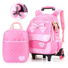 20-35L Trolley School Bag with Wheels Backpack Children  Rolling Backpack