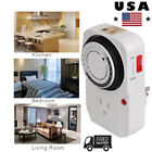 Electric Appliance Digital Timer Control 24 Hrs Time Control Relay Wall Switch photo