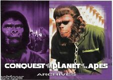 1999 Inkworks PLANET of the APES (46) Conquest for the Planet of the Apes