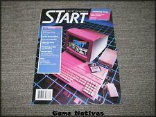 Atari St Start Magazine Premier Issue Summer 1986 - Free Shipping!