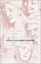 What Is Emotion? : History, Measures, and Meanings by Jerome Kagan (2009,...