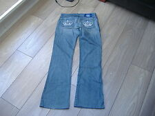 Rock & Republic Victoria B Vintage crystal crown jeans. Size 27. Fit uk 8 - 10.