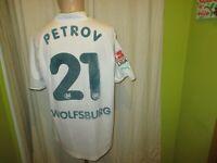"VfL Wolfsburg Original Puma Heim Trikot 2002/03 ""VW"" + Nr.21 Petrov Gr.XXL"
