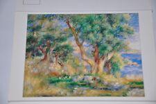 Carte Postale ancienne - Postcard Auguste RENOIR - Paysages près Menton - 1883
